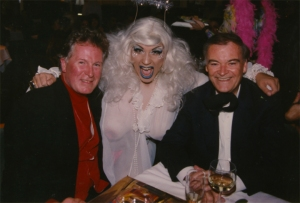Halloween party at Star's with Jeremiah Towers and Mayor Jordan