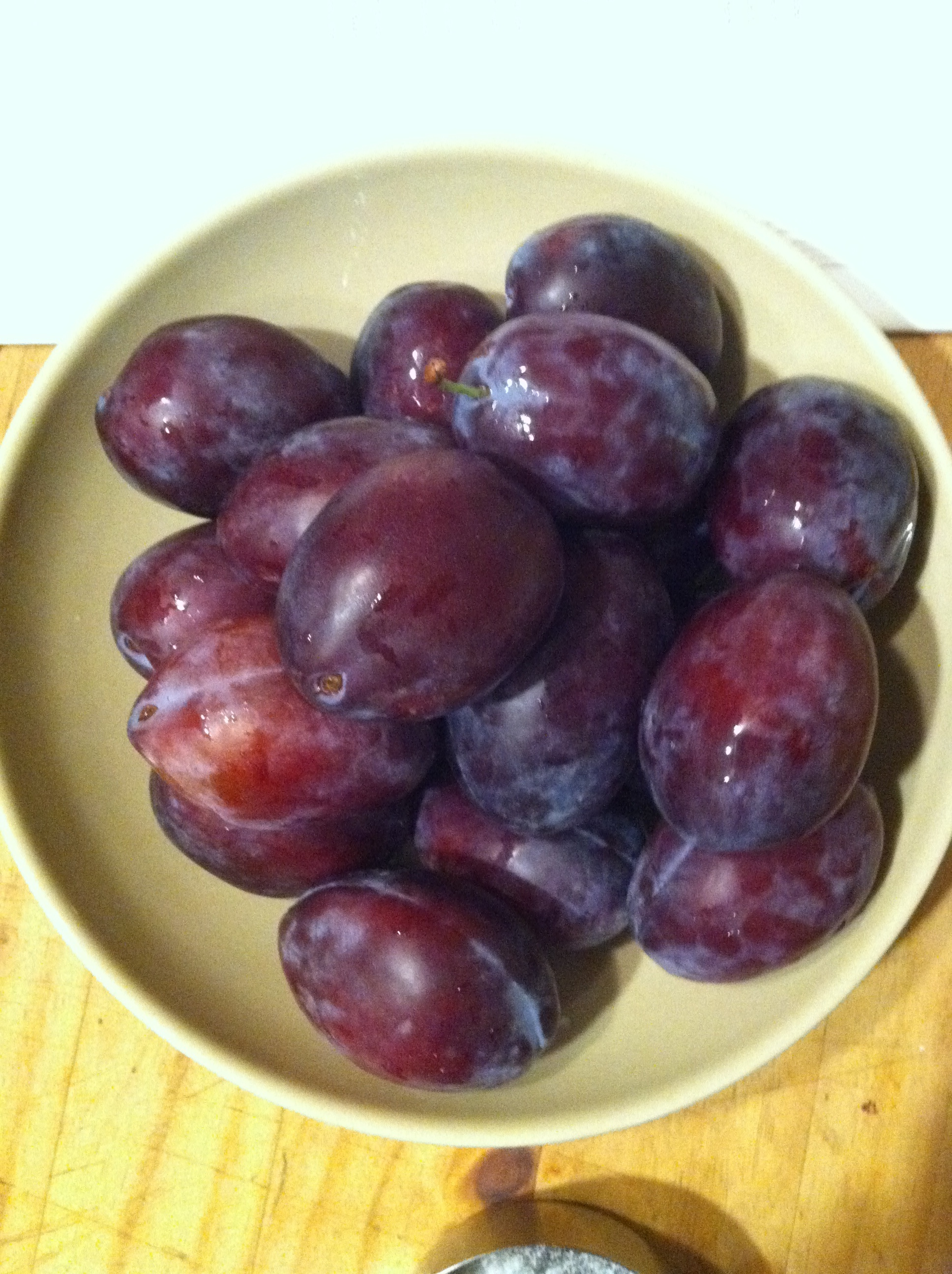 Italian Prune Plum Cake Recipe