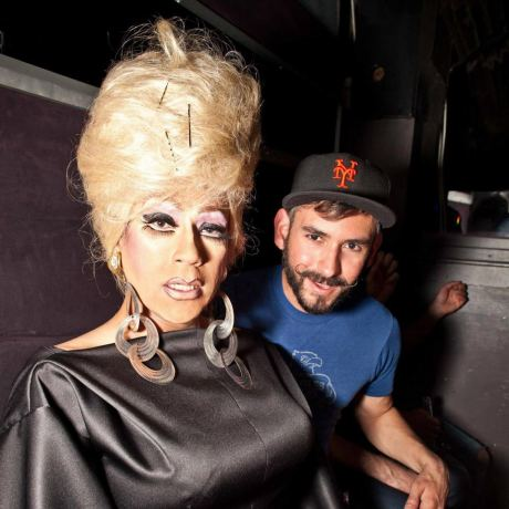 Paul and I at Booty Call Wednesdays
