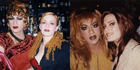 Ana and I at Fag Fridays & Trannyshack, Circa 1996