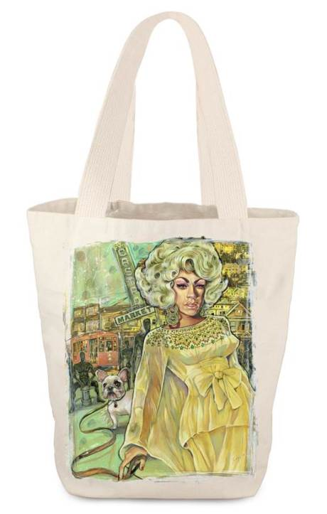JM! Market Tote Bag