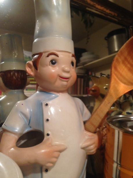 Chef in charge at Chez MORE!