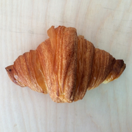The croissant at Mr. Holmes Bakehouse